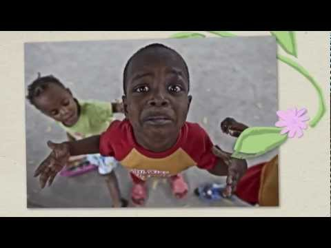 How to support traumatized children in Haiti Child-Flower