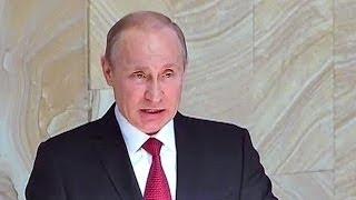 Сенсационное выступление Путина в ФСБ (07.04.2014)