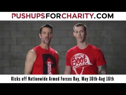 Pushups for Charity workout tips with Tony Horton!