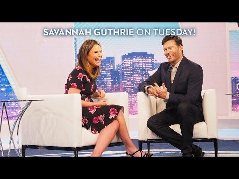 Savannah Guthrie on Tuesday!