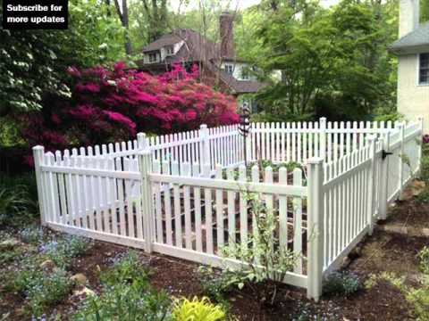 Vinyl Fencing For Gardens   Fence Ideas And Designs