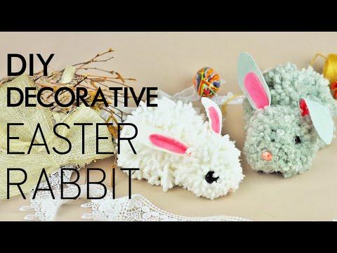 DIY Decorative Easter Rabbit