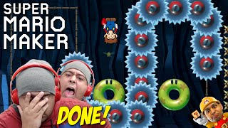 THIS F#%KING LEVEL BROKE ME DOWN!! [SUPER MARIO MAKER] [#50]