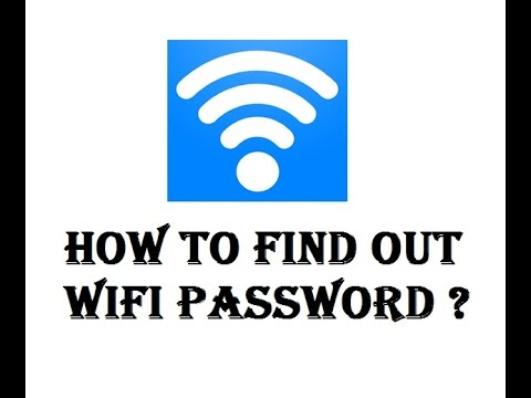 How to Find Out your WiFi Password Windows 7/ 8 /8.1 /10 ? how to show wifi key or password ?