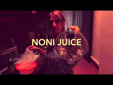 How to make your own Noni juice
