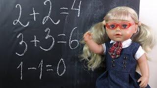 Download Кукла Эмили Идёт в Школу Мультик Школа Для детей Игрушки Детский канал Video