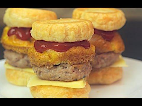 Muffin Tray Breakfast Sliders