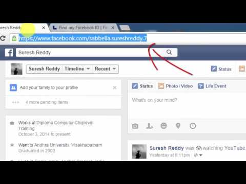 How To Find Facebook User Id - Tech 8