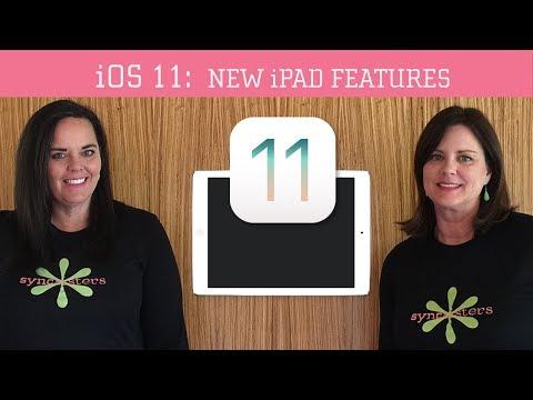 iOS 11 - New iPad Features