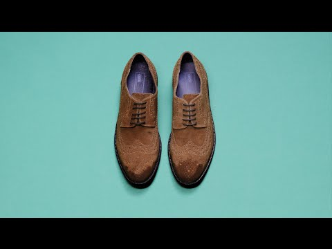 How to clean suede shoes | ASOS Menswear how to
