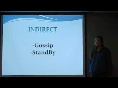 Indirect Bullying Explanation