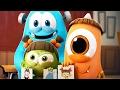 Funny Animated Cartoon | Spookiz Season 1 - Kong Kong's Amulet | 스푸키즈 | Videos For Kids