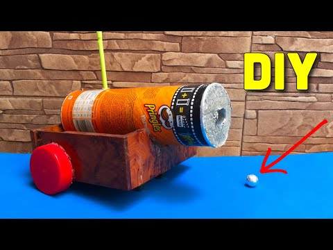 How to Make a Mini Cannon that Shoots