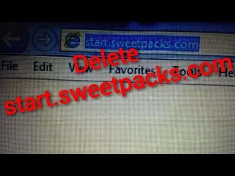 HOW TO REMOVE start.sweetpacks.com FROM INTERNET EXPLORER (IE) MANUALLY.