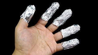 12 Life hacks for aluminium foil