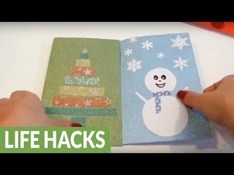 DIY homemade Christmas cards