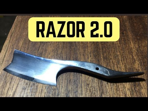 How to make a Straight Razor