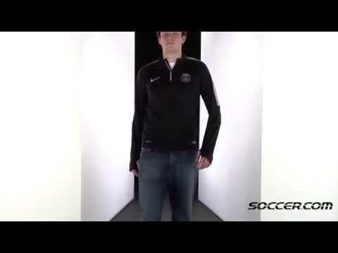 fce0f857 Nike Paris Saint Germain Long Sleeve Midlayer Training Jersey 14/15 69076