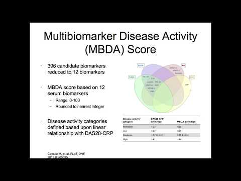 Predicting Outcomes in RA - The Role of Biomarkers
