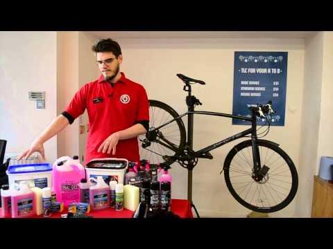 Bike cleaning made easy
