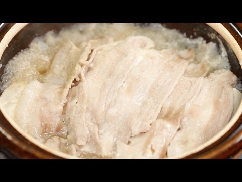 Yukinabe Recipe (Grated Daikon and Pork Hot Pot that is Easy on Your Stomach) | Cooking with Dog