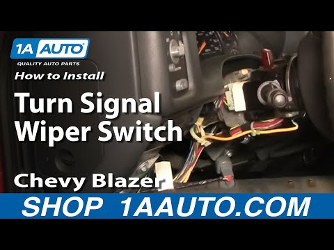 How To Install Replace Turn Signal Wiper Switch Chevy Blazer GMC Sonoma 1AAuto.com
