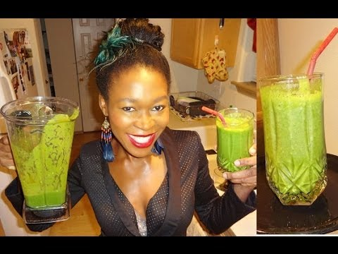 Making A Super green Smoothie