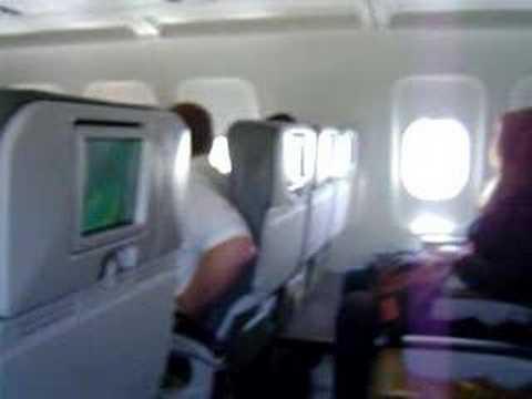 jetBlue flight 755 landing in ARUBA
