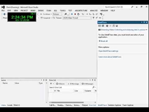 Alarm Clock in VB net 2