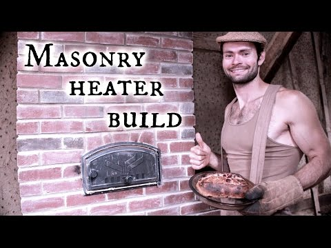 Our Timber frame workshop: Masonry Heater