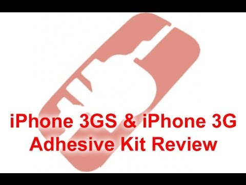 iPhone 3GS Adhesive Kit Review