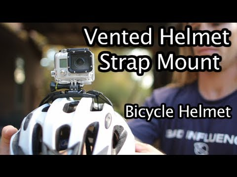 GoPro Vented Helmet Strap Mount For Bicycle Helmet - GoPro Tip #215