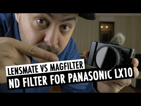 Lensmate vs Magfilter | ND Filter For Panasonic LX10/LX15 (Sony RX100 / Canon G7x) | RehaAlev