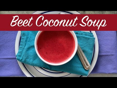 Easy Vegan Soup | Beet Soup | The Frugal Chef