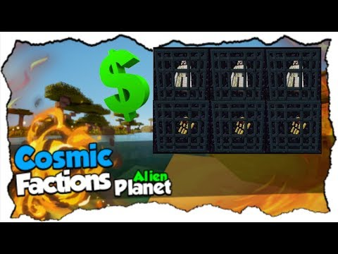 6 Massive Raid Montages!! On CosmicPvP Ep 15 (Factions) Map 7 [Alien Planet]