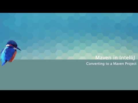 Converting a Java project to use Maven in IntelliJ IDEA