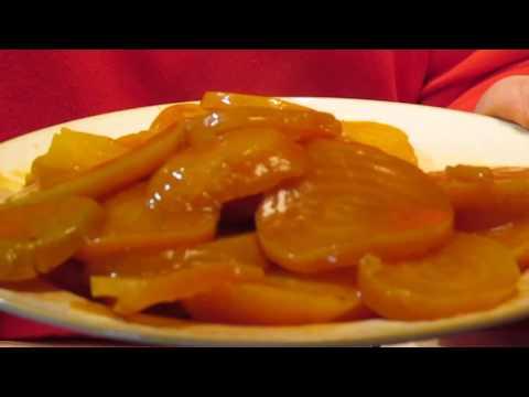 Honey Butter Golden Beets