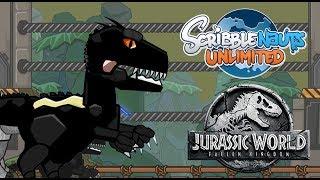 Scribblenauts Unlimited 279 Indoraptor from JURASSIC WORLD: FALLEN KINGDOM