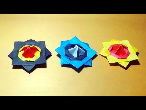 Spinning Top - How To Make An Origami Spinning Top |