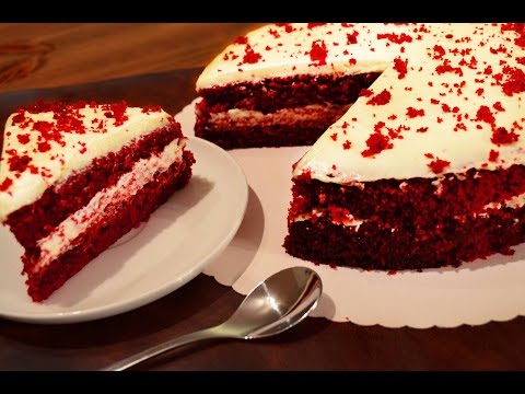 Red Velvet Cake Without Oven | By Neetu Suresh