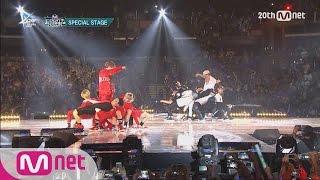 GOT7(갓세븐) VS MONSTA X(몬스타X) - Dance Battle M COUNTDOWN - FEELZ in LA 150813 EP.437