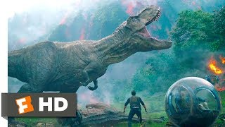 Download Jurassic World: Fallen Kingdom (2018) - Saved by Rexy Scene (4/10) | Movieclips Video