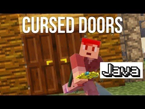 Cursed Doors in Minecraft