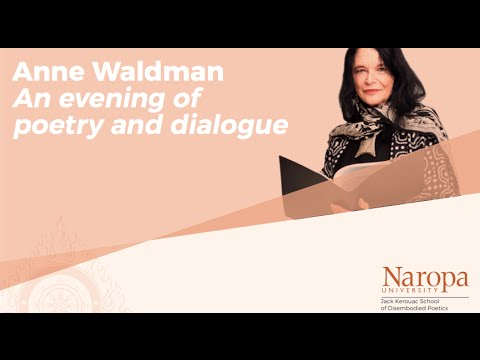An evening of poetry and dialogue with Anne Waldman