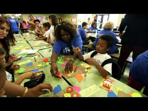 School Support Staff Volunteer to Help Community Kids