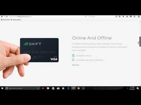 How To Order Shift Visa Debit Card