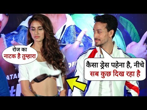 Xxx Mp4 Tiger Shroff Fights With Disha Patani For Her BAD Dressing Style 3gp Sex