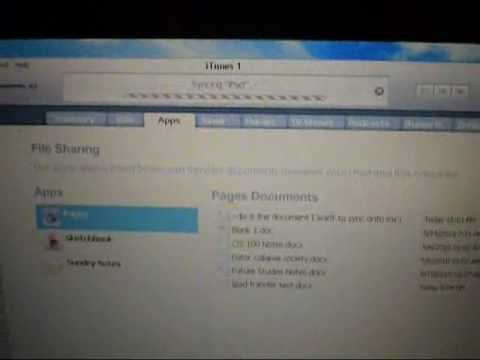How to transfer microsoft word documents to ipad pages app