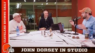 John Dorsey Talks OBJ Trade & Free Agency Moves in 2019 | Cleveland Browns Daily