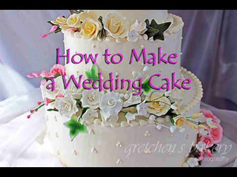 How to Make a Wedding Cake